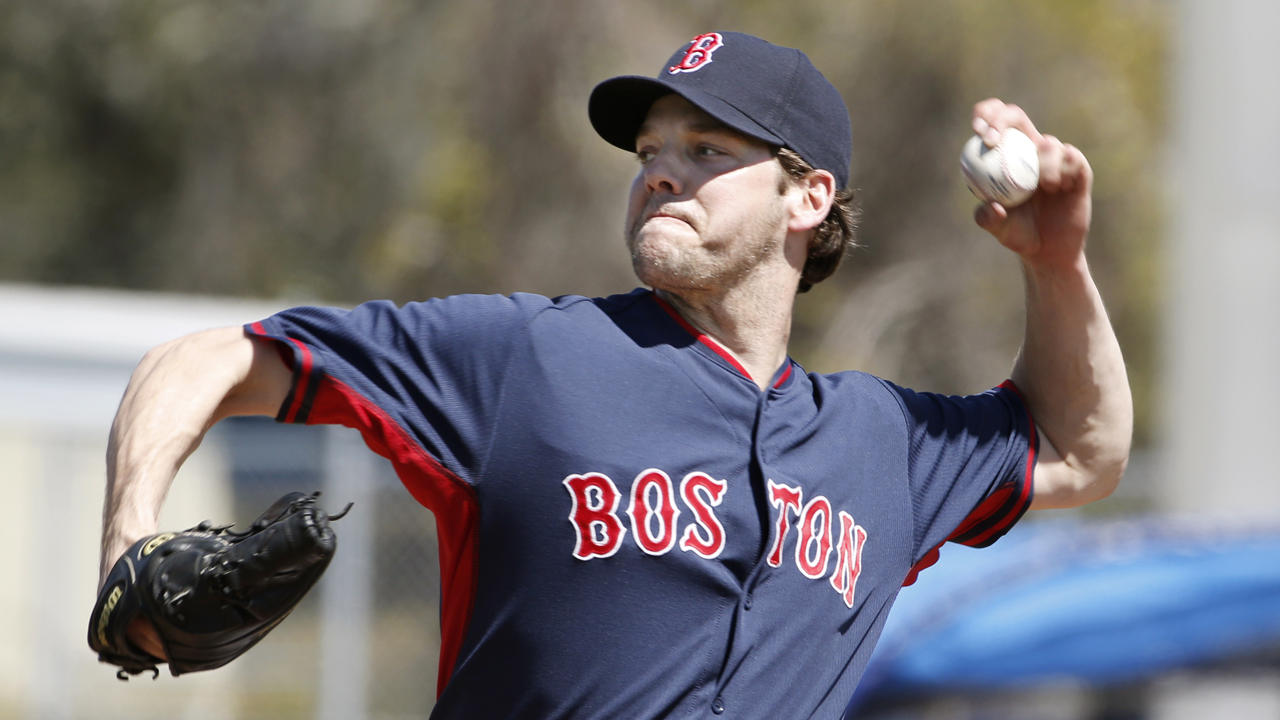 Red Sox reserving judgment with Hill