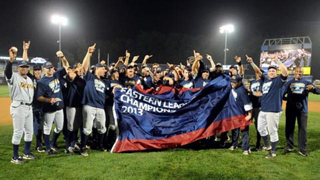 Double-A Trenton sweeps its way to EL title