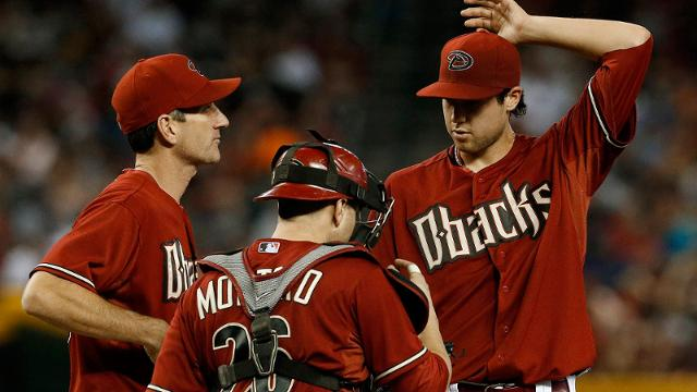 Nagy says he's out as D-backs pitching coach