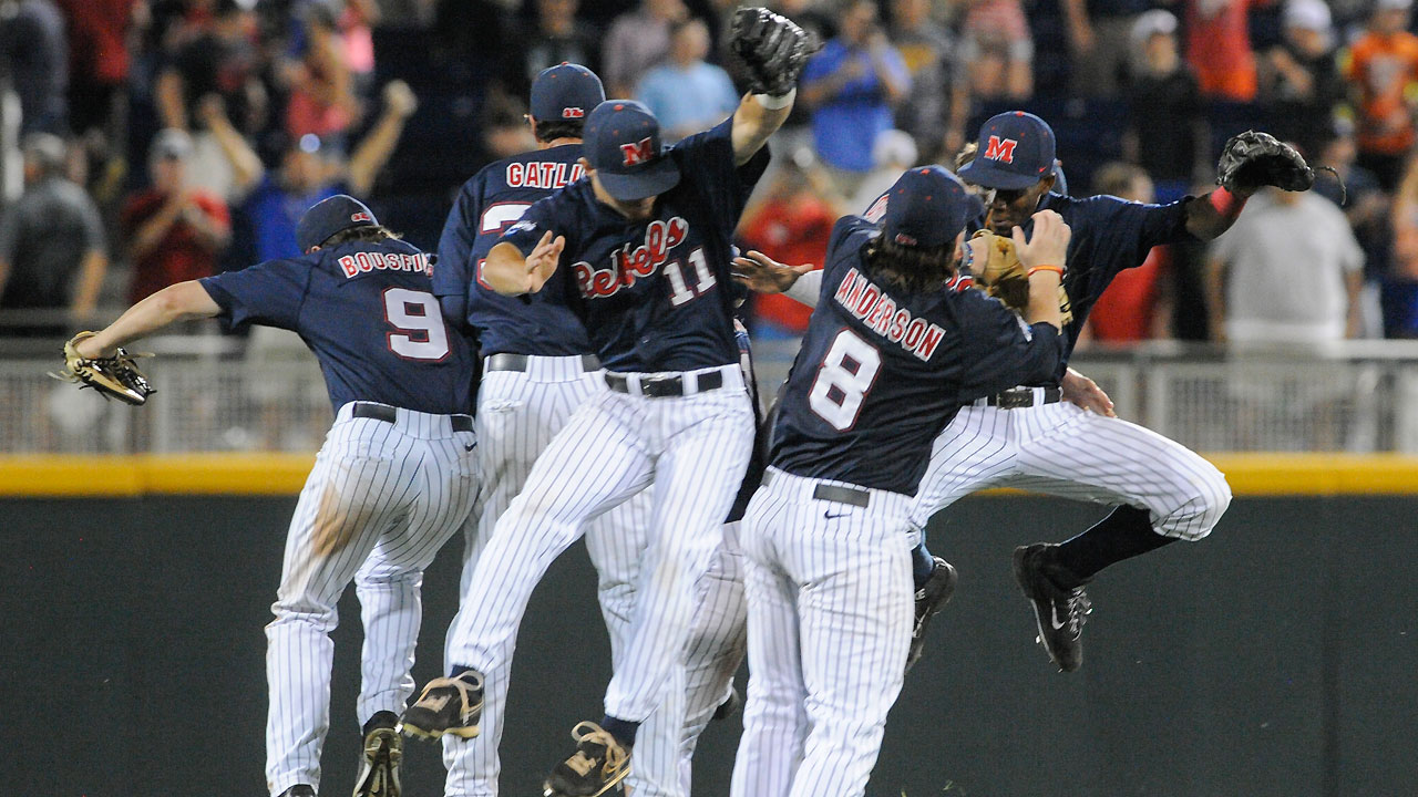 Bats bust out for Ole Miss against TCU