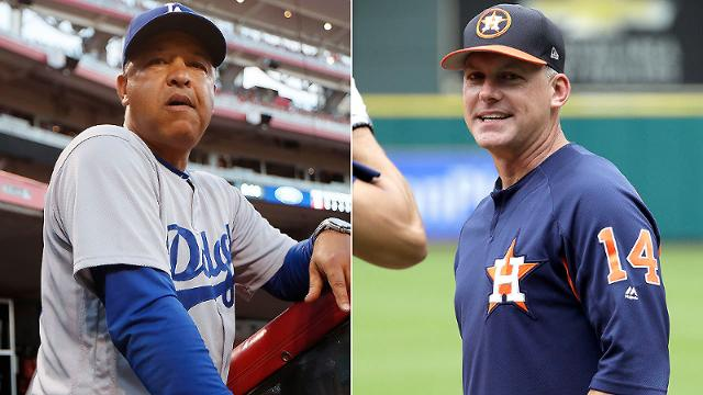 Skippers Dave Roberts (left) and A.J. Hinch have the ability to get their players to both like them and respect them.
