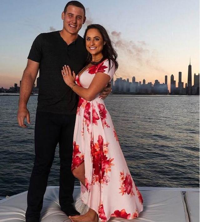 Chicago Cubs First Baseman Anthony Rizzo Is Engaged