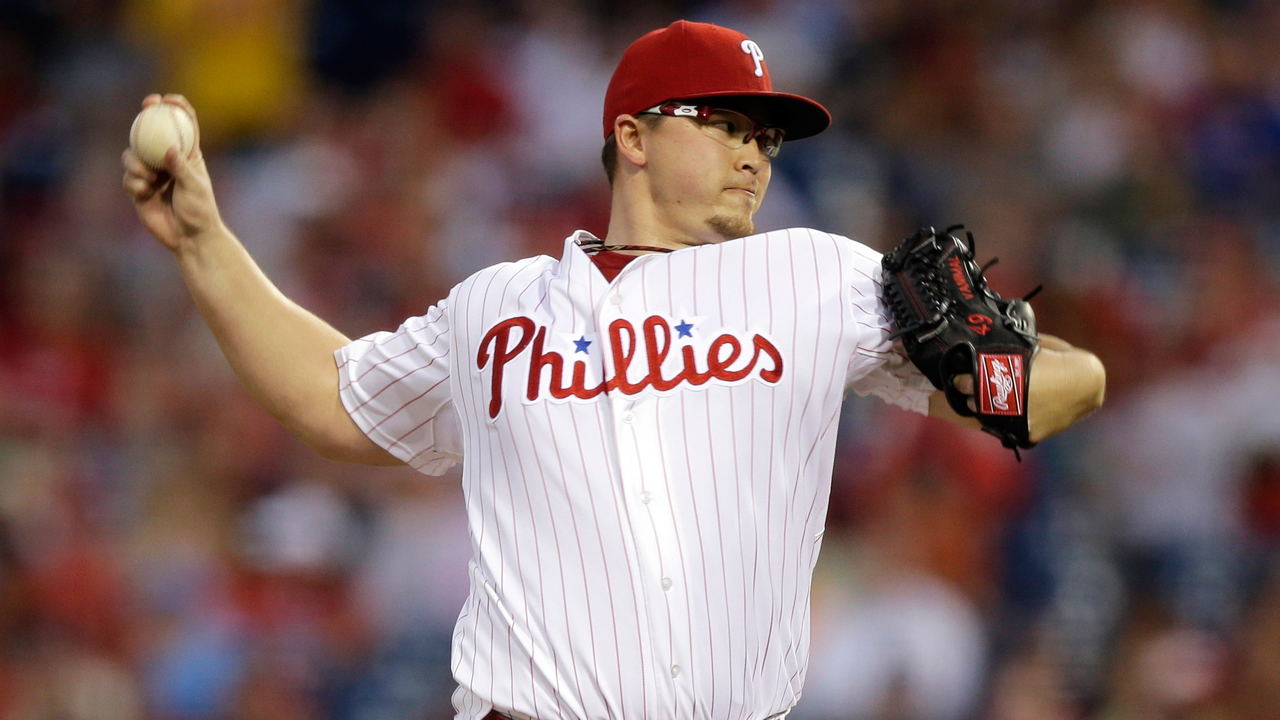 Worley rediscovering success from time with Phils