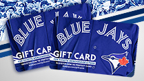 BLUE JAYS GIFT CARDS