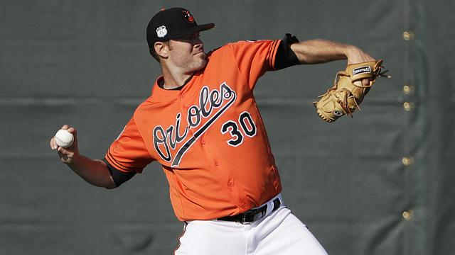 Orioles ace Chris Tillman has not pitched in a game this spring, due to a balky right shoulder. (AP)
