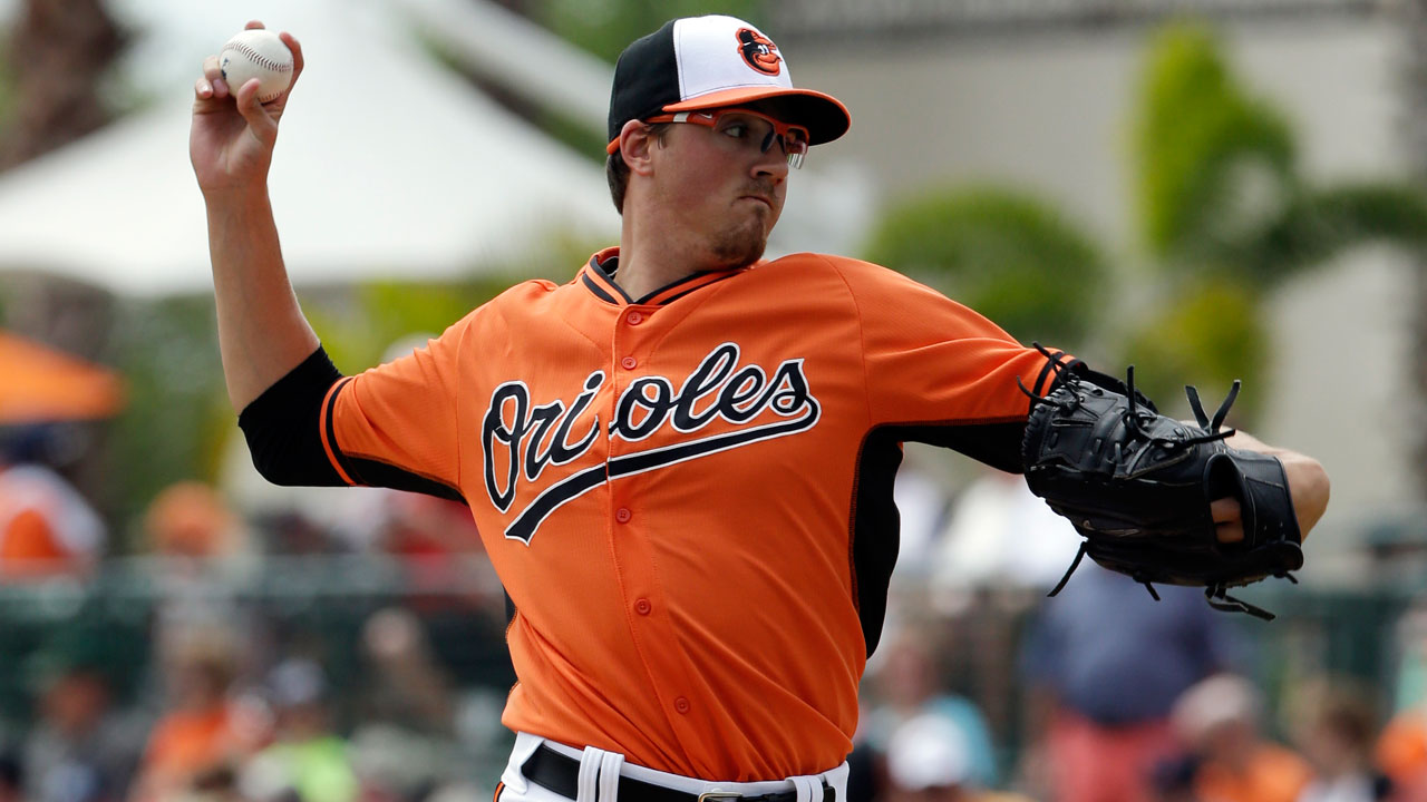 Gausman outstanding as O's hit four homers
