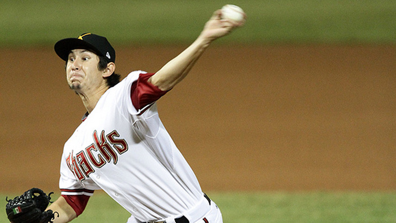 D-backs prospect Garcia relishing time in AFL