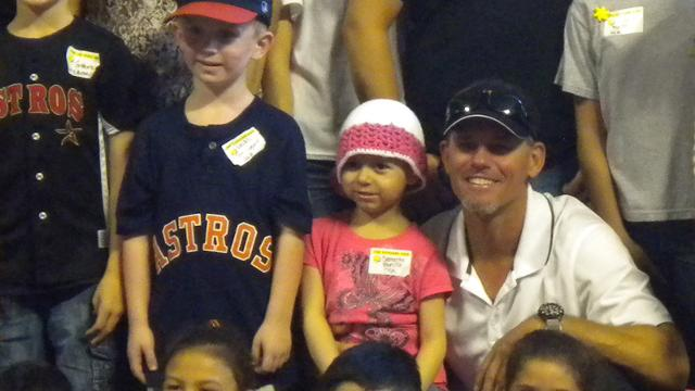 Biggio hosts 23rd Sunshine Kids party in Houston