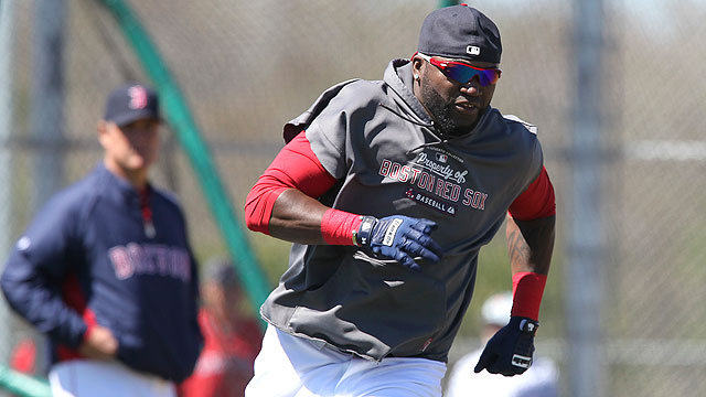 Papi takes step forward by running bases
