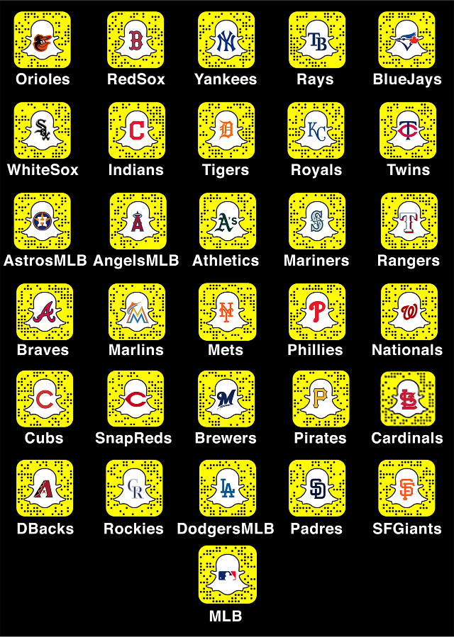 Kansas City Royals Snapchat