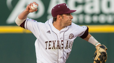 Braves take Texas A&M infielder Reynolds fifth