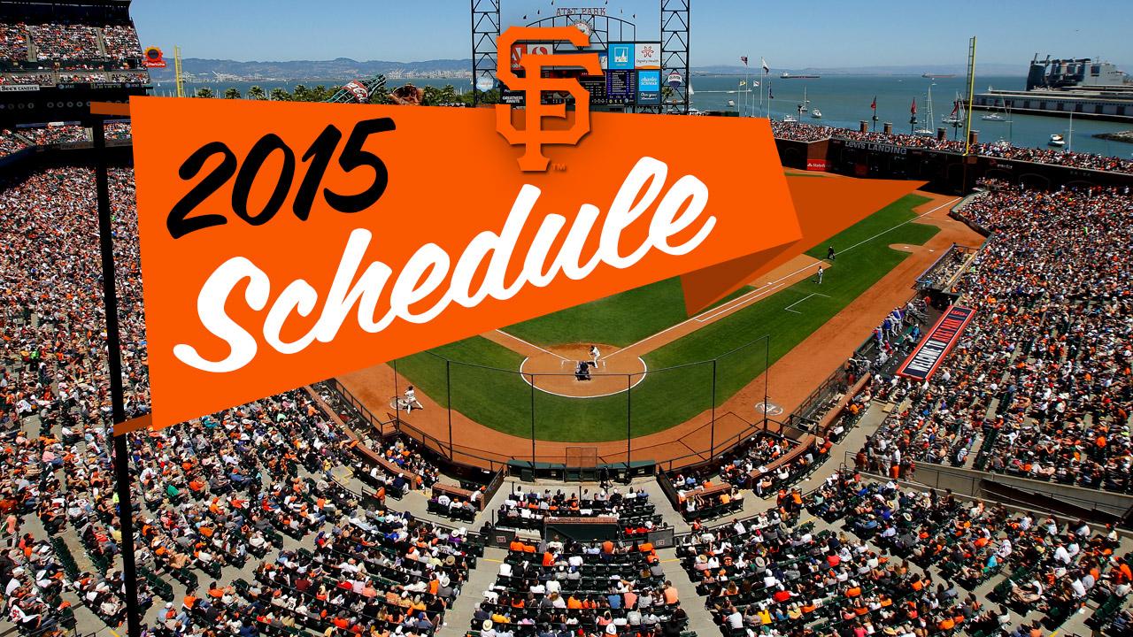 Road trip: Giants to open 2015 season in Arizona