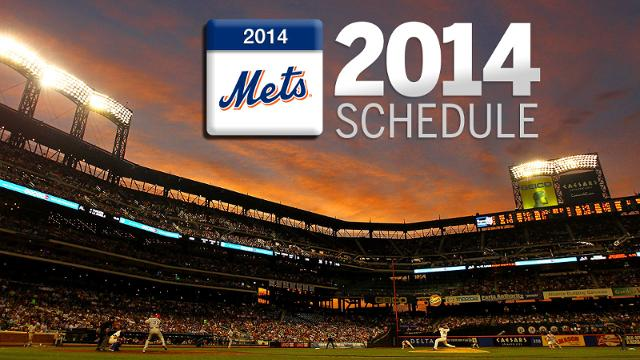 Mets to spend plenty of time on West Coast in 2014