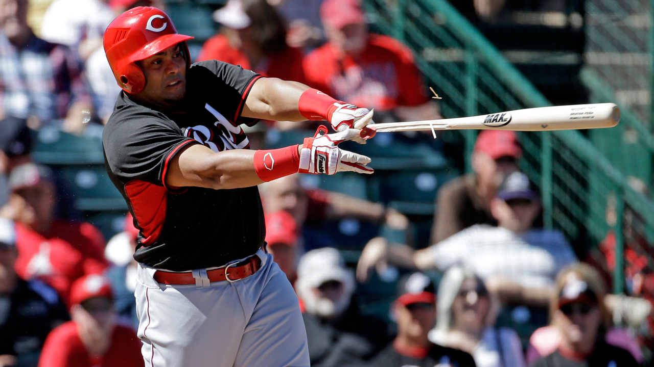 Pena grabbing hold of opportunity with Reds