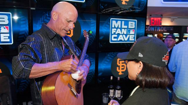 Flannery continues to use his music to help Stow