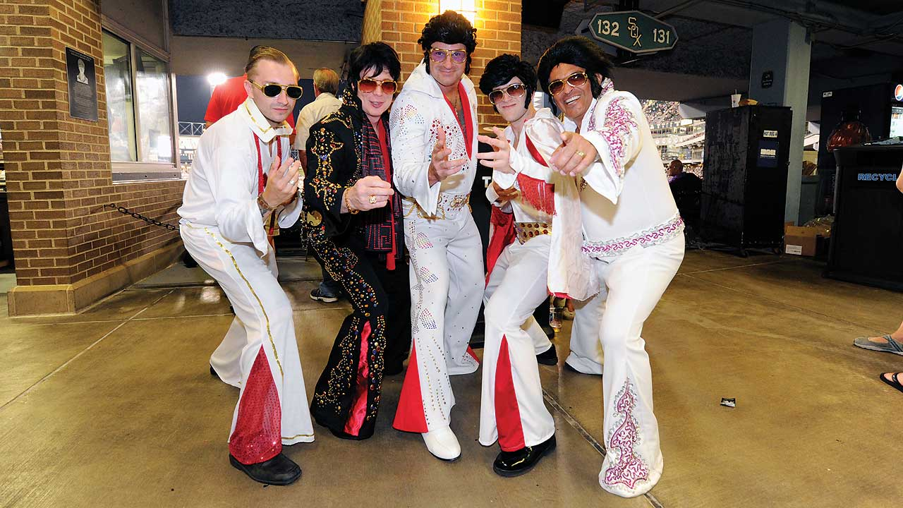 Bobbleheads, fireworks and Elvis at the ballpark