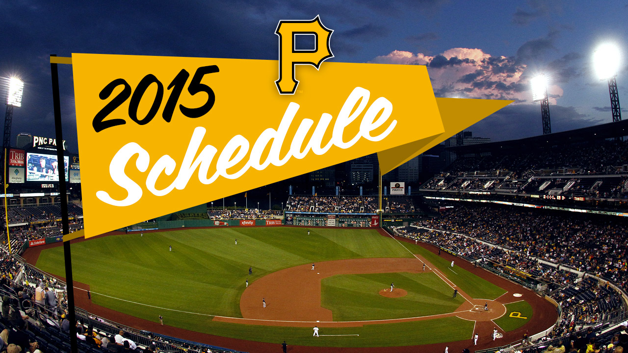 Pirates to open '15 where they close '14