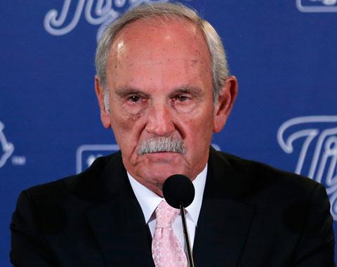 Jim Leyland renuncia como manager de los Tigres