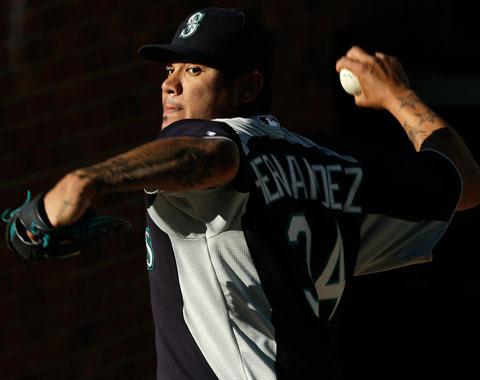 Hernández aún no está listo para abrir por Seattle