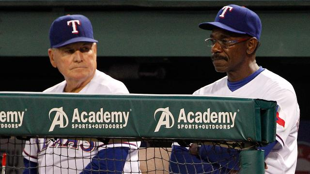 Rangers let coaches Moore, Anderson go from staff