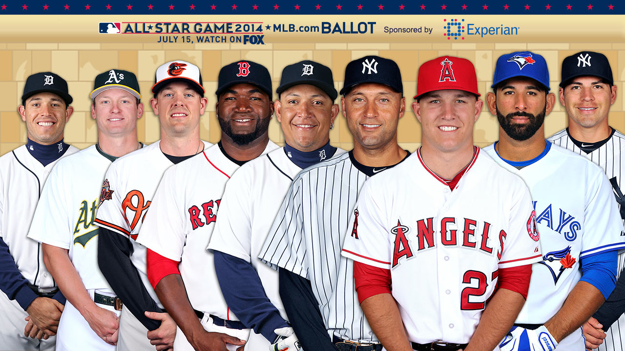 Trout leading AL vote-getter; closest battle is at 2B