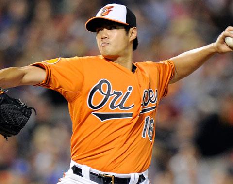 Wei-Yin Chen fue operado de la rodilla derecha