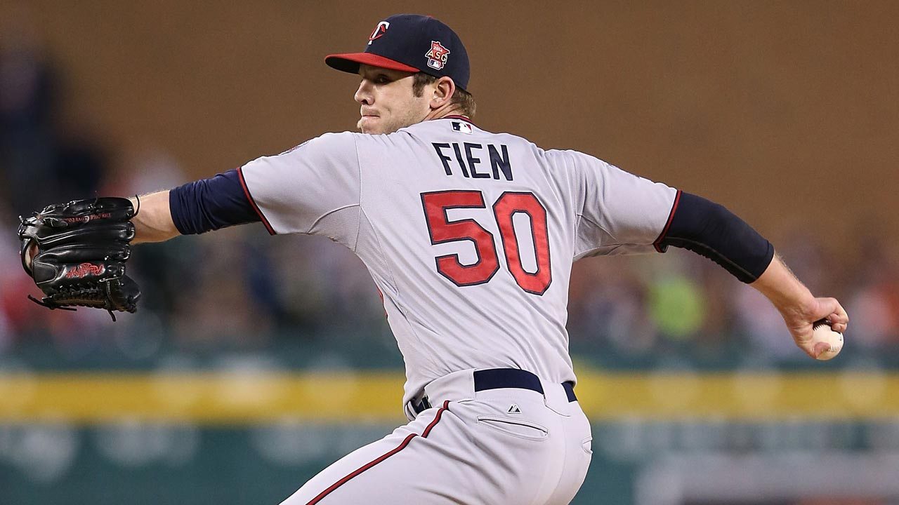 Former Tiger Fien finds home with Twins