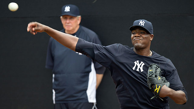 Pineda could make pinstripe debut by June