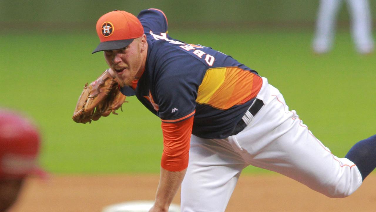 Oberholtzer, Astros top Mexico's Veracruz