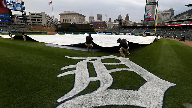 Rain postpones series opener against Royals