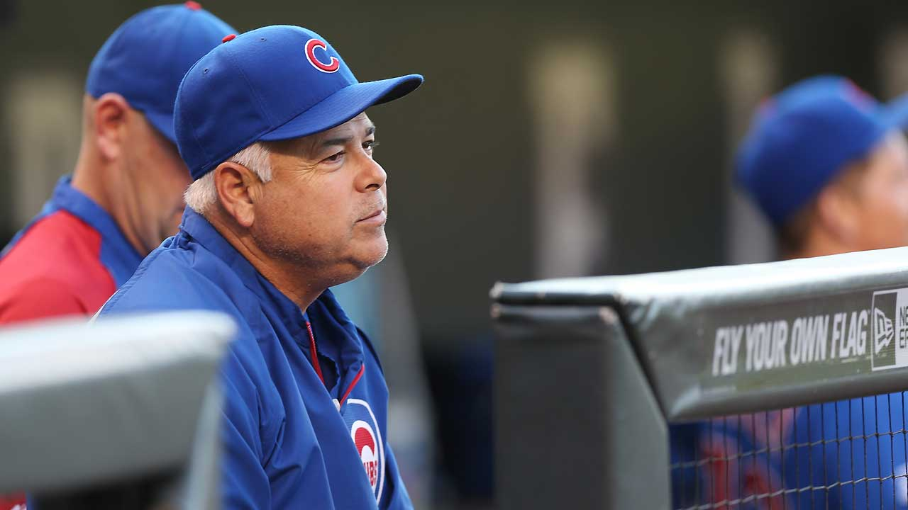 Renteria comfortable with short bench