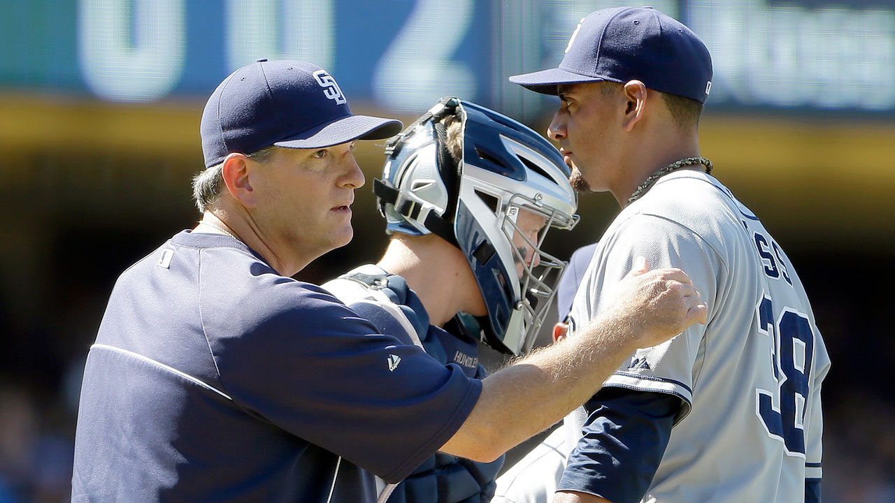 Passionate Balsley brings out best in Padres' pitchers