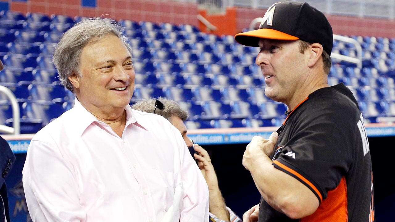 Loria talks Manfred, replay, state of Marlins