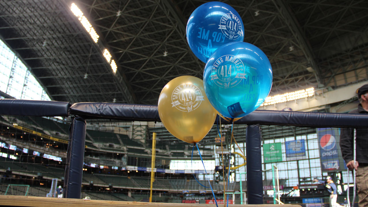 Brewers' annual 'Spring Madness' underway