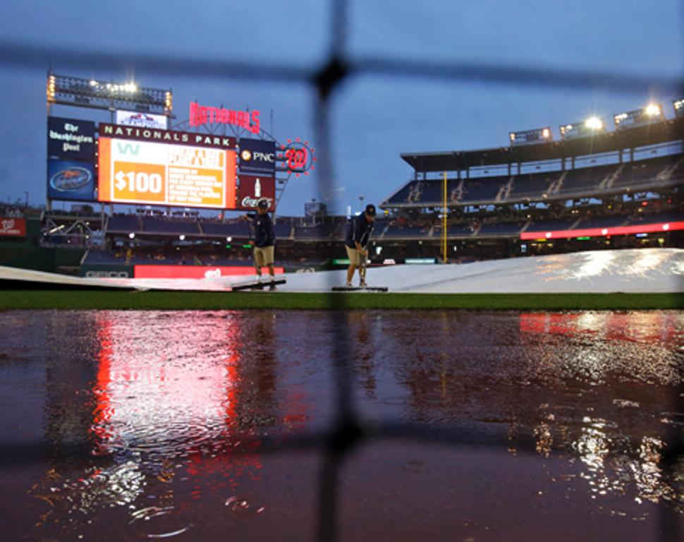 Duelo Marlins-Nacionales fue postergado por lluvias