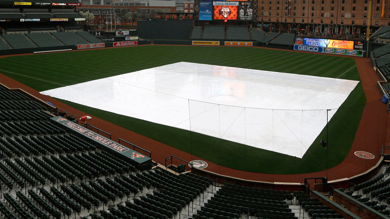 Yanks, O's washed out Tuesday in Baltimore