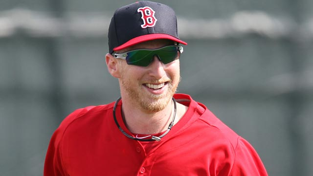 Carp excited for fresh start with Red Sox