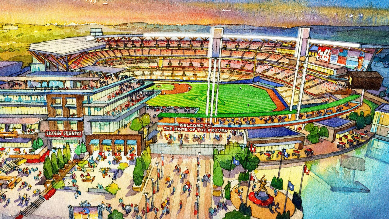 Braves' new ballpark to be full-service destination