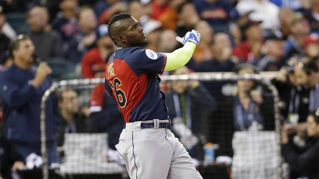 Puig gets shut out in Home Run Derby debut