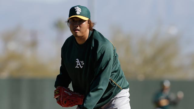 A's hope to find gems among non-roster invitees