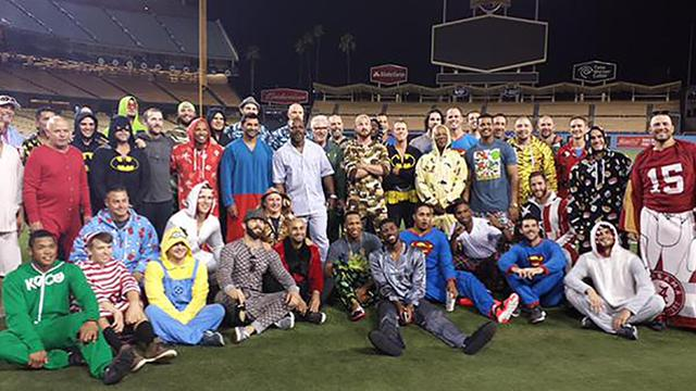 All the Chicago Cubs in their Pajama Pics