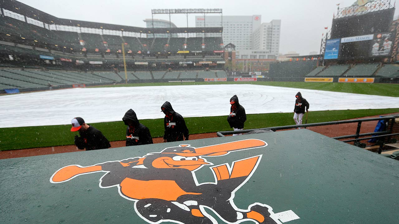 Bucs-O's postponed, to be made up Thursday
