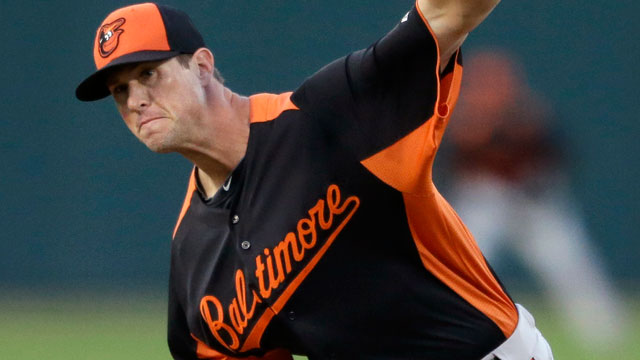 Matusz fans seven in four no-hit frames vs. Twins