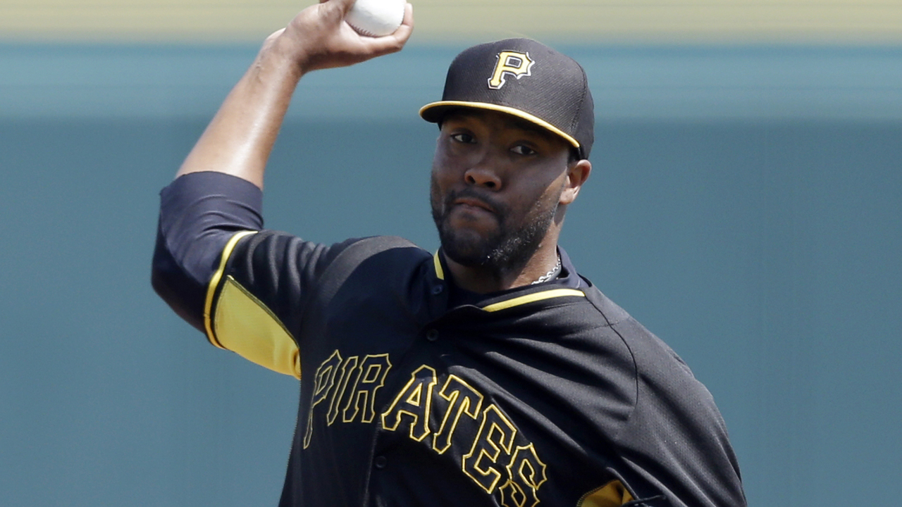 Jackson getting noticed at Pirates' camp