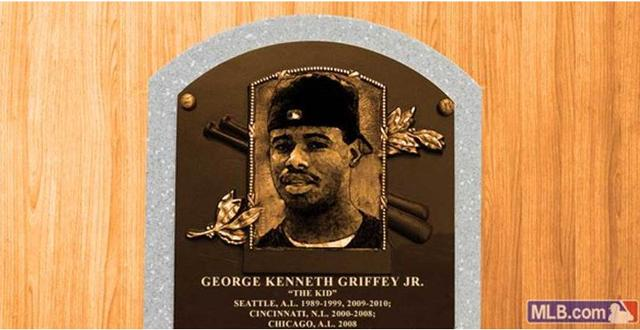 ecce720a7f Ken Griffey Jr. might be able to have a backwards cap on his Hall of Fame  plaque. main image