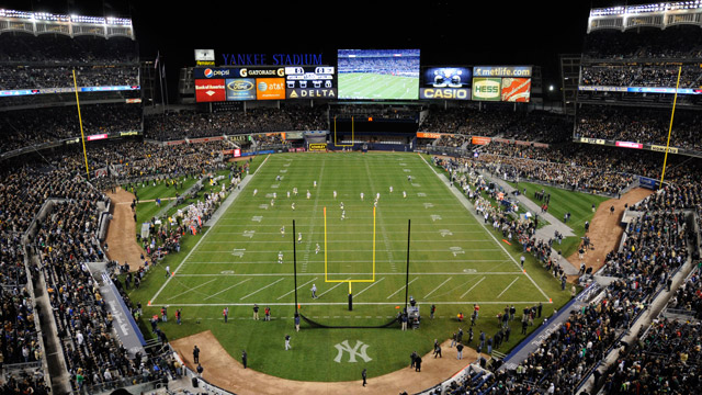 Army football to play UConn at Yankee Stadium