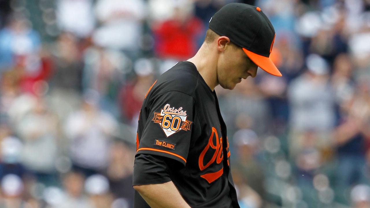 Orioles recall Brach, Meek DFA'd off 25-man