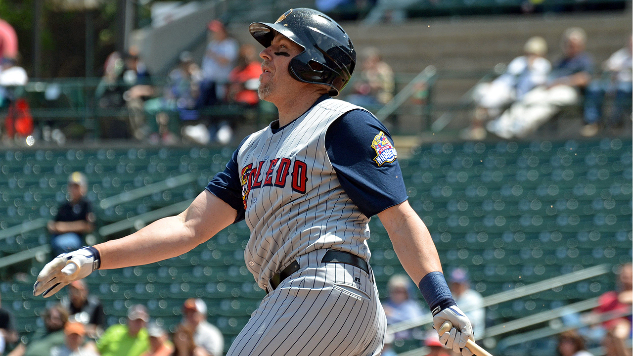 Hessman hits 259th International League homer