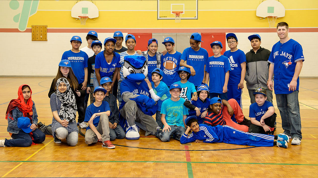 Tolleson helps Toronto students get active