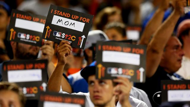 Twins stand with MLB for SU2C auction